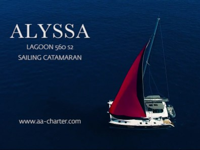 Promotional video of luxuty catamaran