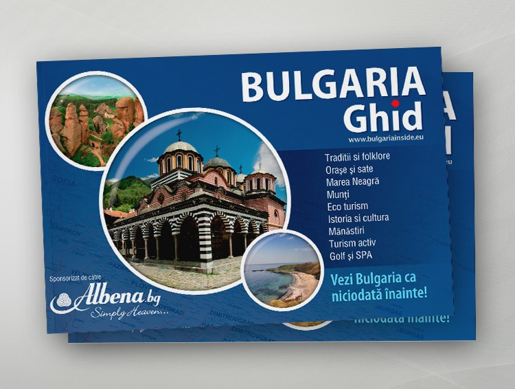 Bulgaria Guide - romanian edition
