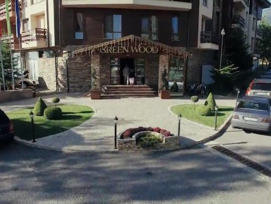 Promotional video of Greenwood Hotel&SPA hotel in Bansko