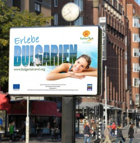 Advertising campaign for destination Bulgaria on the German market