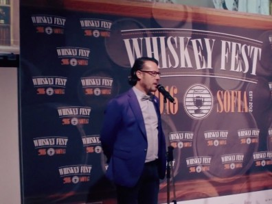 Video of the Whiskey Fest event in Sofia